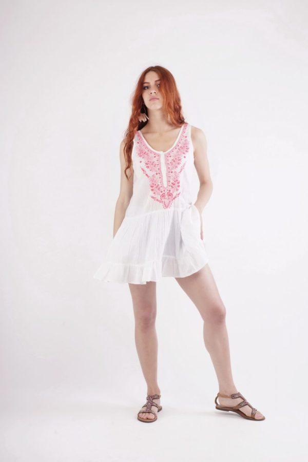 Boho Μίνι Φορεματάκι 3