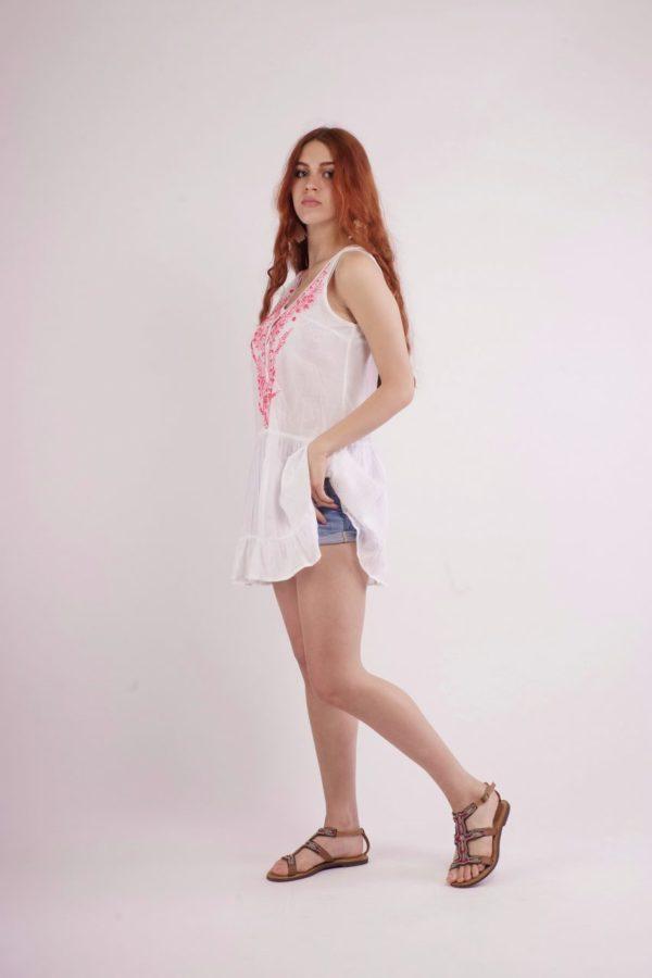 Boho Μίνι Φορεματάκι 4