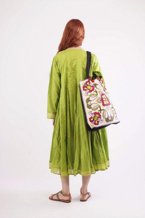 """Green curta"" φόρεμα 2"