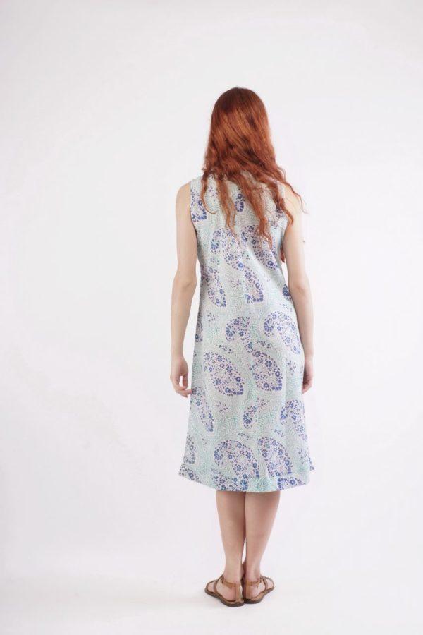 Sleeveless dress Φορεματάκι μέχρι το γόνατο