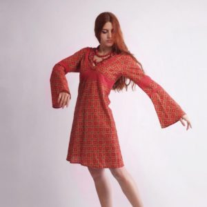 """""""Wide-long-sleeve dress"""""""