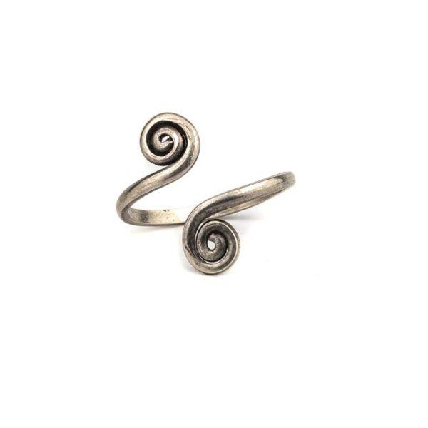 Boho (925) silver toe ring