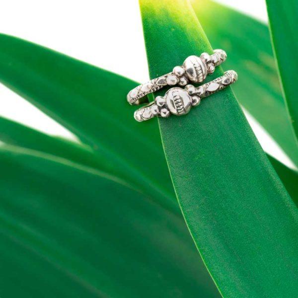 Boho Silver toe ring made in India