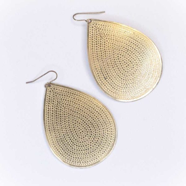 Faux brass Boho Earrings