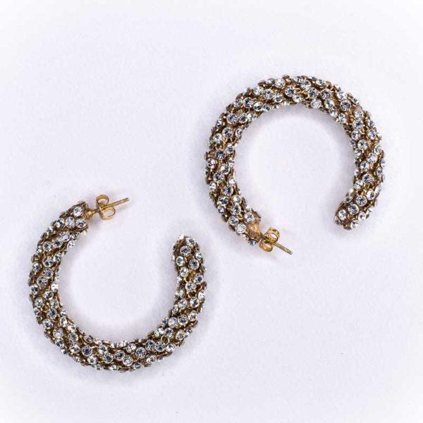 Strass stones Boho Earrings