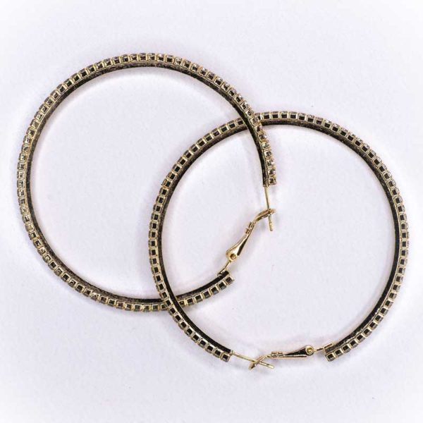 Handmade Boho Earrings with strass stones