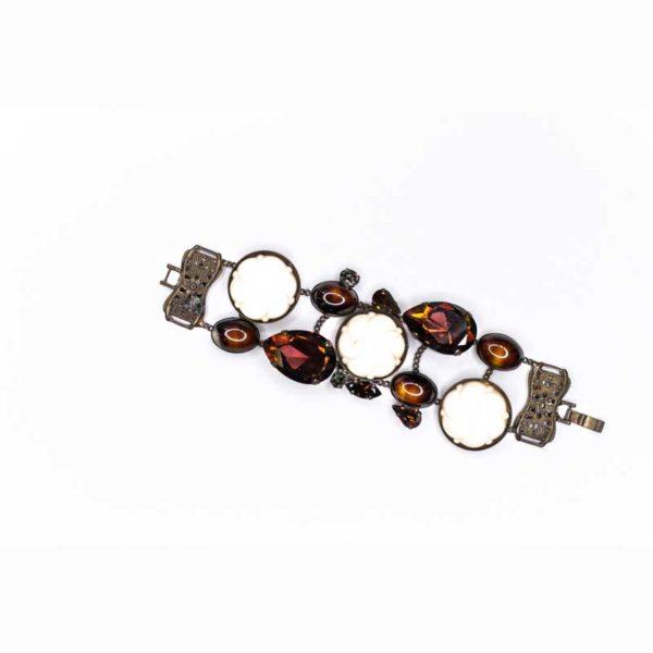 Faux Brass Boho Bracelet
