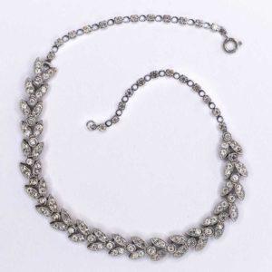Handmade Boho Necklace with strass stones