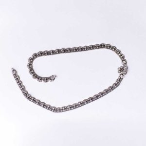 Silver chain Anklet Double wear (anklet or necklace)
