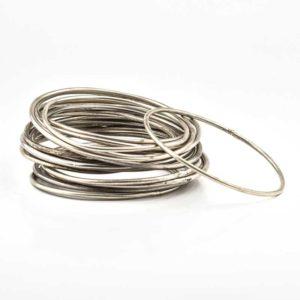 Silver Boho Bracelet (Made in India)