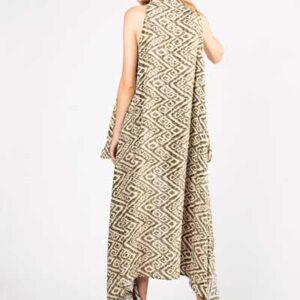 Πράσινο Παρεό Φόρεμα - Βαμβακερό Παρεό -Φόρεμα