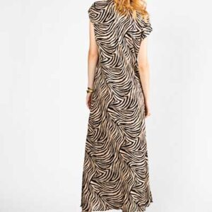 Boho Style Zebra Dress