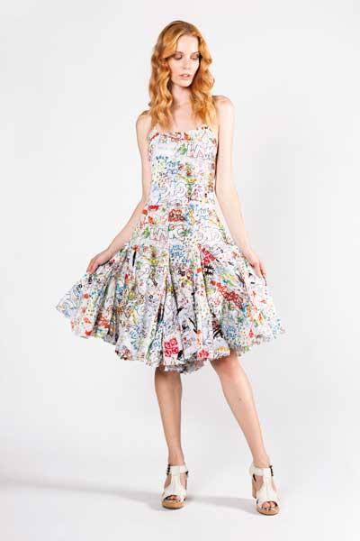Vintage Dress Boho Φόρεμα