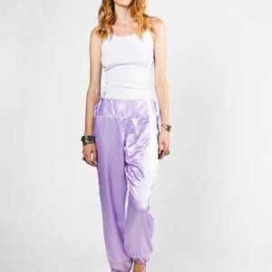 Silk Pants Boho Μεταξωτό Σατέν Παντελόνι