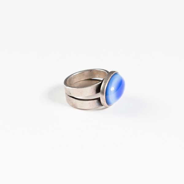 Boho Δαχτυλιδι - Greek Silver 9