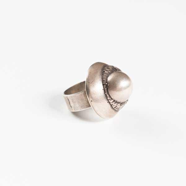 Boho Δαχτυλιδι - Greek Silver 9.25 In The Shape Of A Snale.