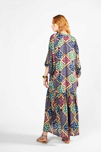 Samphire Boho Dress Μάξι Φόρεμα