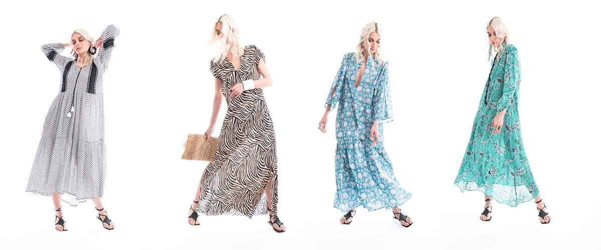 Καλοκαιρινά Boho Φορέματα-νέες αφίξεις